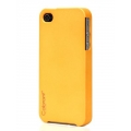 Colorant Poly Carbonate Color Case for iPhone 4, 4S - Solar Power (7005)