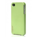 Colorant Poly Carbonate Color Case for iPhone 4, 4S - Margarita (7003)