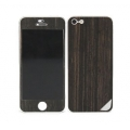 Patchworks Wood Skin for iPhone 5, 5S - Ebony (1203)