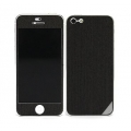 Patchworks Wood Skin for iPhone 5, 5S - Ebony ENG (1204)