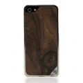Patchworks Alloy X Wood Gold&Walnut Burl Aluminium Bumper for iPhone 5, 5S (5903)