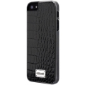 Patchworks Classique Snap-on Case for iPhone 5, 5S - Leather Croco Black