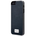 Patchworks Classique Snap-on Case for iPhone 5, 5S - Leather Lizard Navy
