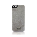 Patchworks Classique Snap-on Case for iPhone 5, 5S - Stone Slate White