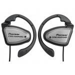 Pioneer Headphones SE-E33-X2, Silver&Red
