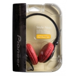 Pioneer Headphones SE-MJ151-K, Red