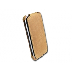 Prestigio Protective Leather Case Khaki Nubuck for iPod Touch 2G/3G (PIPC2104KK)