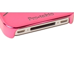 Reflekt Pro-tekto Coffee Rings Case Hot Pink for iPhone 4 (PT1001)
