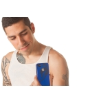 Reflekt Pro-tekto Tribal Falcon Case Sapphire Blue for iPhone 4 (PT1100)