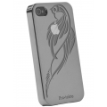 Reflekt Pro-tekto Tribal Falcon Case Gun Metal for iPhone 4 (PT1300)