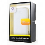 Leather Case WCIH3G-1002 Flip Top White