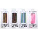 Puro Line Cover for iPhone 4 (IPC4LINE4)