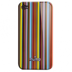 Puro Line Cover for iPhone 4 (IPC4LINE2)