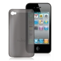 Puro Crystal Cover Black for iPhone 4 (IPHONECRY4BLK)