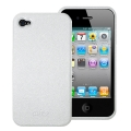 Puro Eco-leather Cover White for iPhone 4 (IPC4WHI)