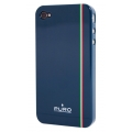 "Puro ""iTalian Flag"" Cover Blue for iPhone 4 (IPC4FLAG1)"