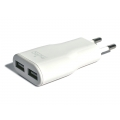 Puro Travel Charger USB Dual White for iPhone, iPod (TC2USBWHI)