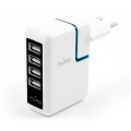 Puro Travel Power 4xUSB White for iPhone/iPod (TP4USB)
