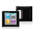 Puro Silicon Cover Black for iPod Nano 6G (NANO6SBLK)