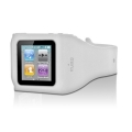 Puro Silicon Wristband White for iPod Nano 6G (NANO6WRISTTR)