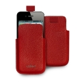 Puro Slim Essential Case Red for iPhone 4, 4S (IPC4PELLERED)