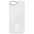 Puro Skull for iPhone 5, 5S - White (IPC5SKULLWHI)