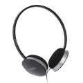 Puro Stereo Headphones Black for iPhone, iPad, iPod (IPHF206BLK)