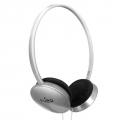 Puro Stereo Headphones Silver for iPhone, iPad, iPod (IPHF206SIL)