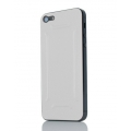 Quadocta Praesidium Leather Cover Skin for iPhone 5, 5S - White