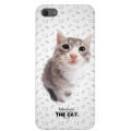 Qual THE CAT Back Cover for iPhone 5, 5S - Siberian (QL1110SB)