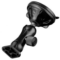 RAM Mount Composite Twist Lock Suction Cup Mount with Diamond Adapter (RAP-B-166-2U)