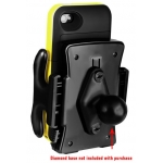 RAM Mount Medium Size Universal Spring Loaded Clamping Holder for SmartPhones (RAM-HOL-UN5U)