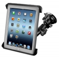 RAM Mount Twist Lock Cup Mount with Tab-Tite Universal Clamping Cradle for iPad`s (RAM-B-166-TAB3U)