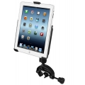 RAM Mount High Strength Composite Yoke Glare Shield with EZ-ROLL'R for iPad`s (RAP-B-121-AP8U)