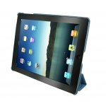 ROOCASE Ultra Slim Leather Smart Case Cover for iPad 2 - Blue (RC-IPD2US-BL)