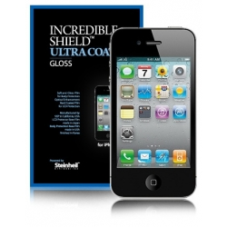 SGP Incredible Shield Series iPhone 4, 4S Screen & Body Protector Set [Ultra Coat]
