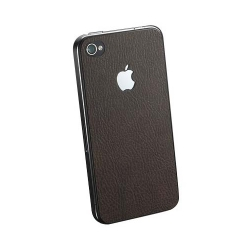 SGP Skin Guard Set Series Brown Leather for iPhone 4, 4S (SGP06898)