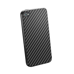 SGP Skin Guard Set Series Carbon for iPhone 4, 4S (SGP06767S)