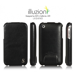 SGP illuzion Folder Pouch Legend Black for Apple iPhone 3G/3GS