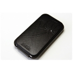 SGP Leather Pouch Valencia Black for iPhone 3G/3GS