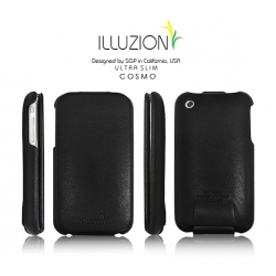SGP illuzion Folder Pouch Cosmo Black for iPhone 3G/3GS
