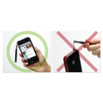 SGP Stylus Pen Kuel H10 Series Black for iPad/iPhone/iPod (SGP07241)