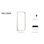 SGP Neo Hybrid Frame Champagne Gold for iPhone 4