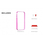 SGP Neo Hybrid Frame Fantasia Hot Pink for iPhone 4