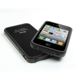 SGP Neo Hybrid Frame Smooth Black for iPhone 4