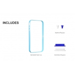 SGP Neo Hybrid Frame Tender Blue for iPhone 4