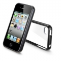 SGP Linear Case Crystal Series Smooth Black for iPhone 4, 4S (SGP07527)