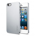 SGP Case Ultra Thin Air Series Satin Silver for iPhone 5, 5S (SGP09538)