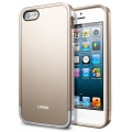 SGP Case Linear Metal Series Metal Champagne Gold for iPhone 5, 5S (SGP10041)