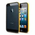 SGP Case Neo Hybrid EX Slim Vivid Series Reventon Yellow for iPhone 5, 5S (SGP10028)